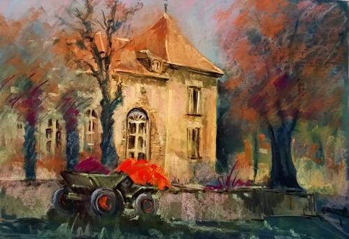 Fête de la peinture  à Villiers sur  Orge