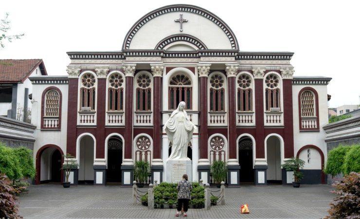 Cathédrale de l'Immaculée-Conception à Chengdu (Chine continentale), DR