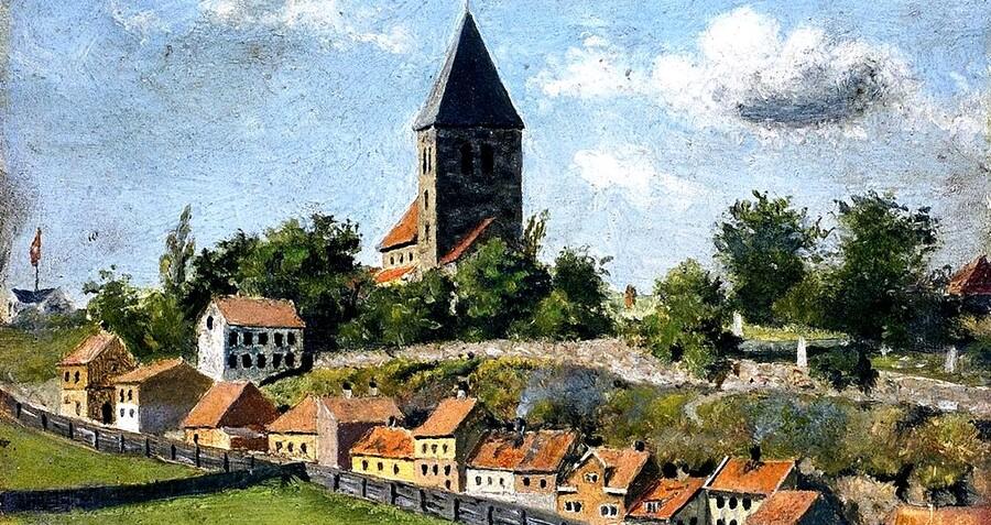 2.Munch / 1880  :très classique !