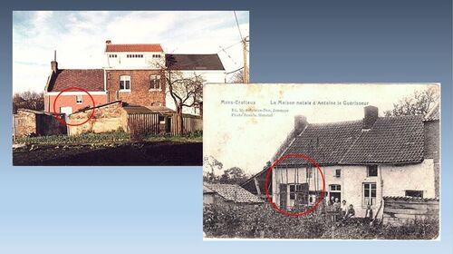 Maison natale d'ANTOINE Louis à Mons-Crotteux (CAHPM)