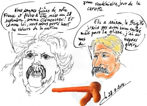 Né(e)s un 28 septembre/ Clémenceau/BB/Marielle Goitschel