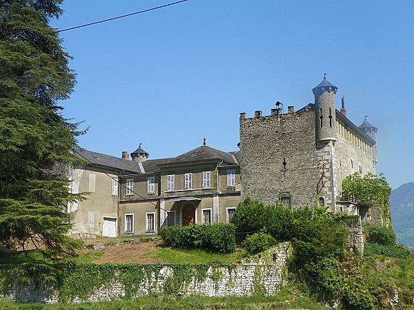 Bourdeau ( Château )