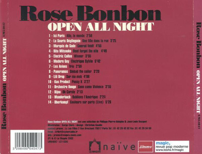 Compilation: Rose Bonbon - Open all night (2002)