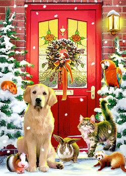 Joyeux Noël à tous les amoureux des Goldens!!