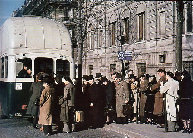 Andre Zucca: Nazi Propaganda Photos - Paris during WW223