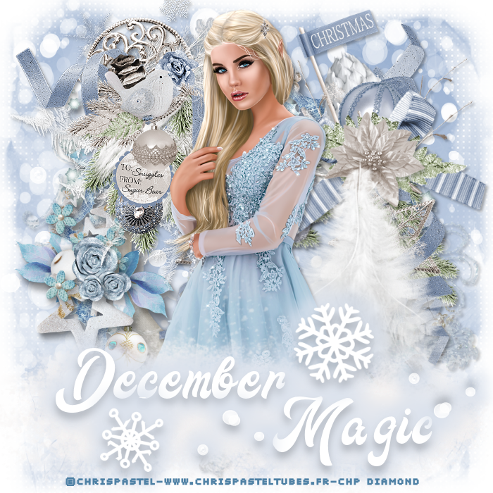 "Tutoriel ""december magic "" de Cookie creations"