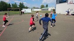 Journée sportive avec les établissements catholiques du pays sabolien