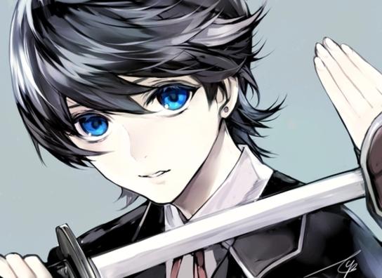Image de anime boy, touken ranbu, and horikawa kunihiro