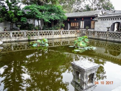 Jardins le la famille Zhang; suite de la visite;