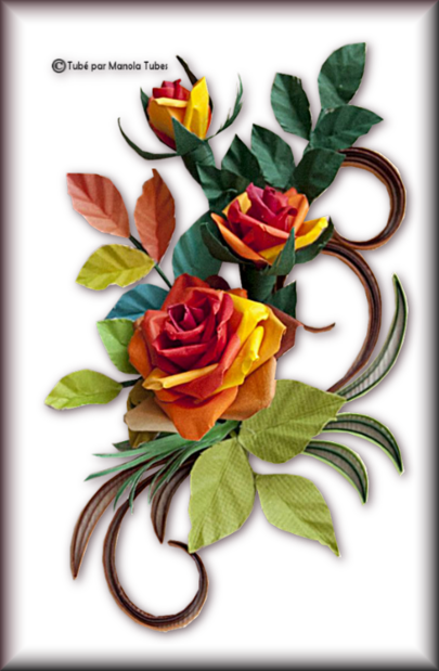 Tubes Quilling Arts floral 2985