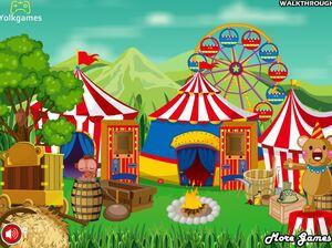 Jouer à New year circus escape