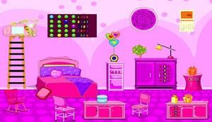 Jouer à Hot girl room escape