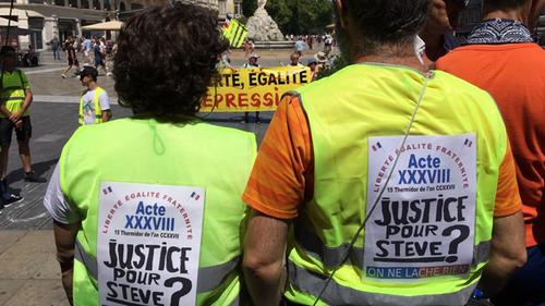 Actes XXXVIII, les gilets sont la seule opposition sérieuse à Macron
