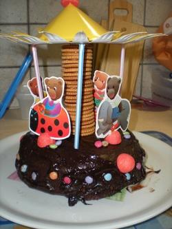 Gâteau au chocolat très rapide