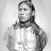 Tsi-lo-son, Son of Salanta. A Kiowa man. Photo from 1870-1890.