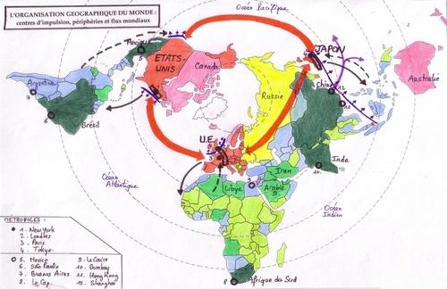Carte Bac : La mondialisation