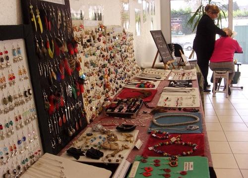 Exposition de mes bijoux aux caves SAINT-ROCH
