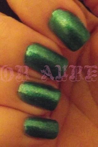 •°•.Pearly Peacock ou le vert qui n'est pas vert.•°•