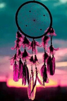 Image de Dream, dreamcatcher, and sunset