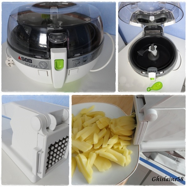 Frites avec Actifry