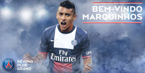 Officiel Marquinhos au Paris SG
