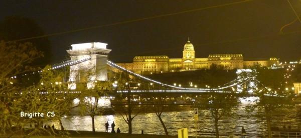 Le pont des Chaînes à Budapest - avril 2013
