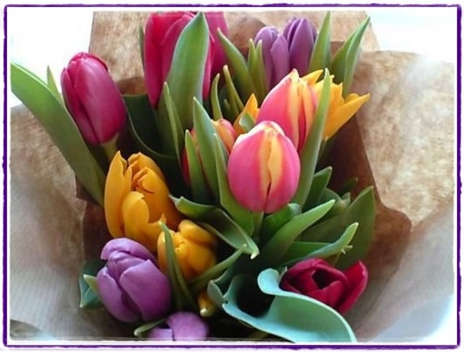 Week end fleuri ...