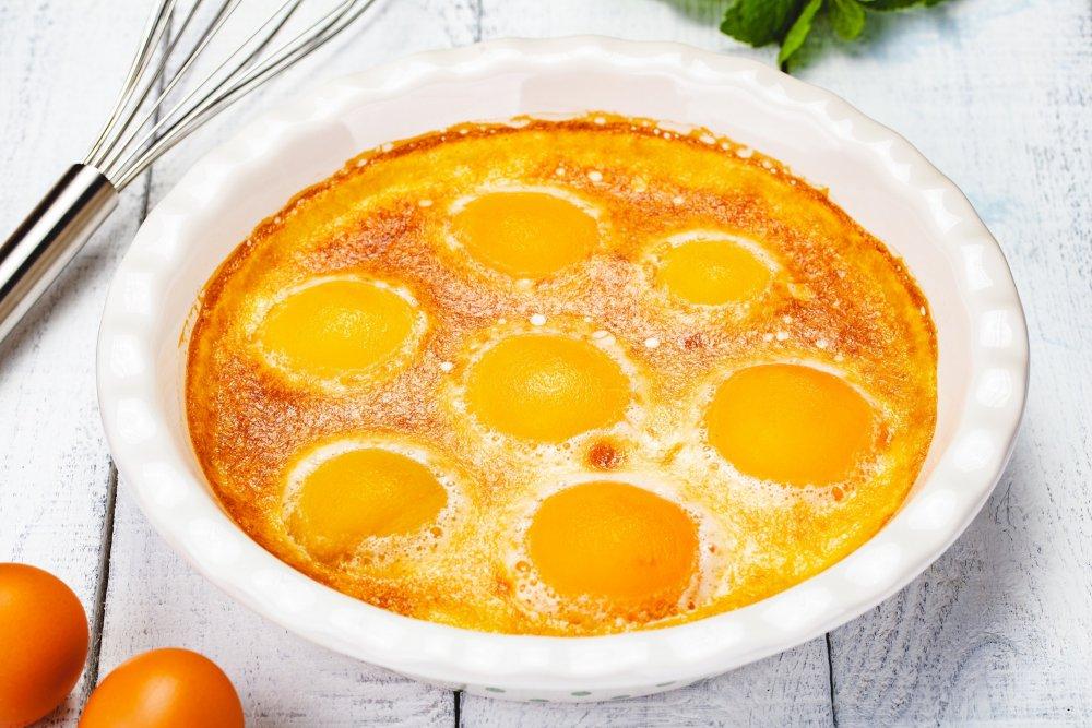 Clafoutis aux kumquats