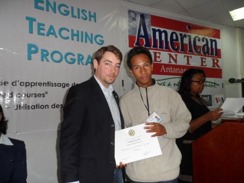""" English Access Scholarship Program ""  - Troisième promotion"
