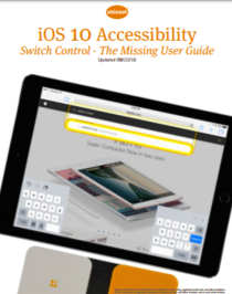 """IOS 10 """"Accessibility"""""""