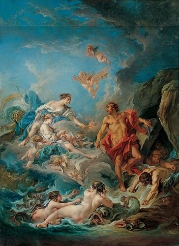 Les dieux des vents...