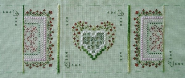 2ème Coeur de Reine - étape 3