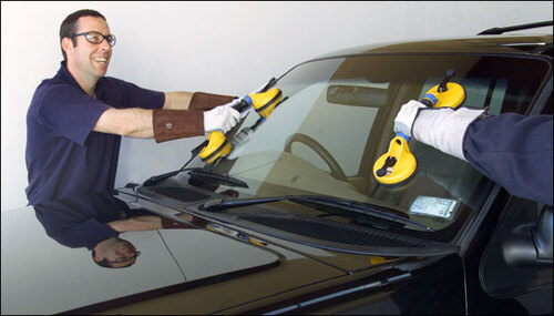 Damaged Auto Glass Services for Automatic Door Repairs
