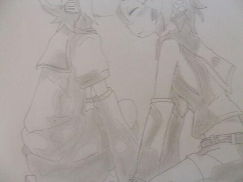 Rin et Len Kagamine ( Vocaloid)