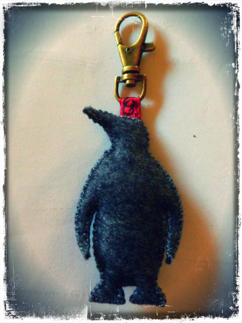 "Porte-clés ""Pinguin rainbow"""