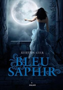 Couverture de La Trilogie des Gemmes, Tome 2 : Bleu Saphir