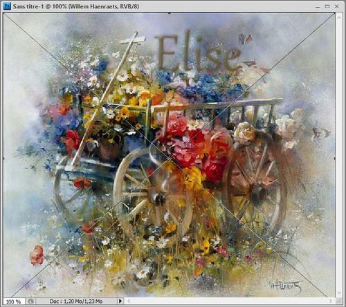 05. Le chariot de fleurs