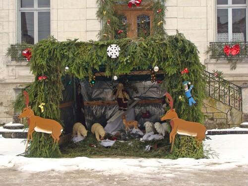 Des villages décorés pour les fêtes