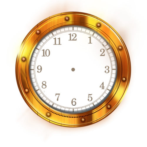 Cadrants pour horloge flash