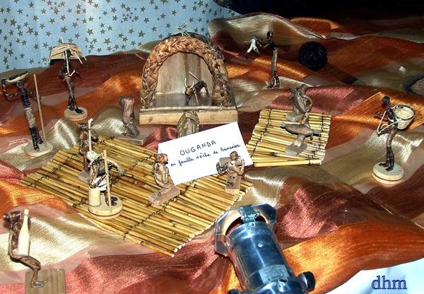 Exposition de crèches artisanales