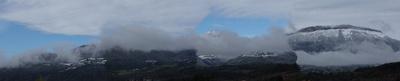 Entre paysage d'automne et paysage d'hiver