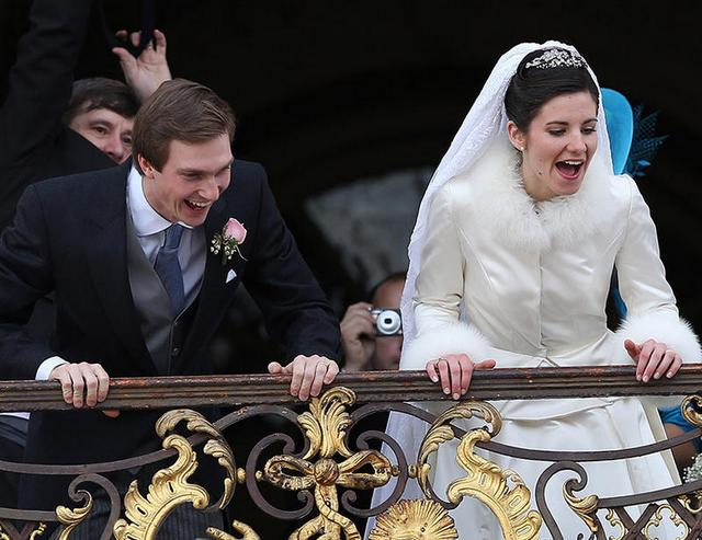 Mariage religieux: les mariés!