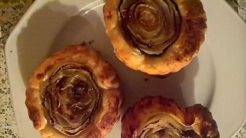 """De délicates """"tatins d'endives"""" d'après une recette d'Alain Passart"""
