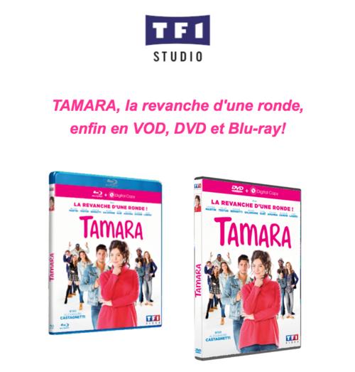 TAMARA, la revanche d'une ronde, en VOD, DVD et Blu-ray le 28 février 2017 chez TF1 Studio
