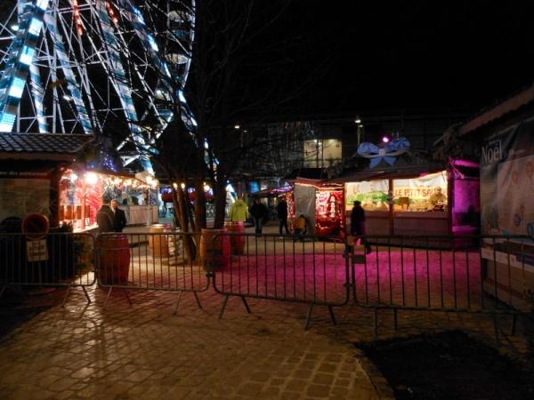 Le marché de Noël va bientôt ouvrir...