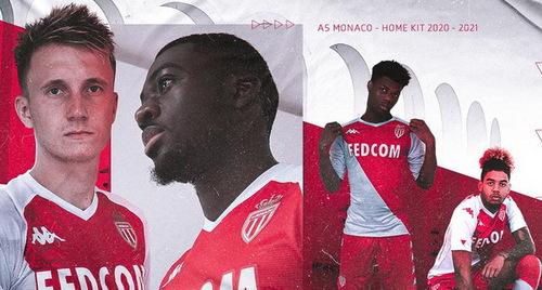AS Monaco home jersey 2020-2021