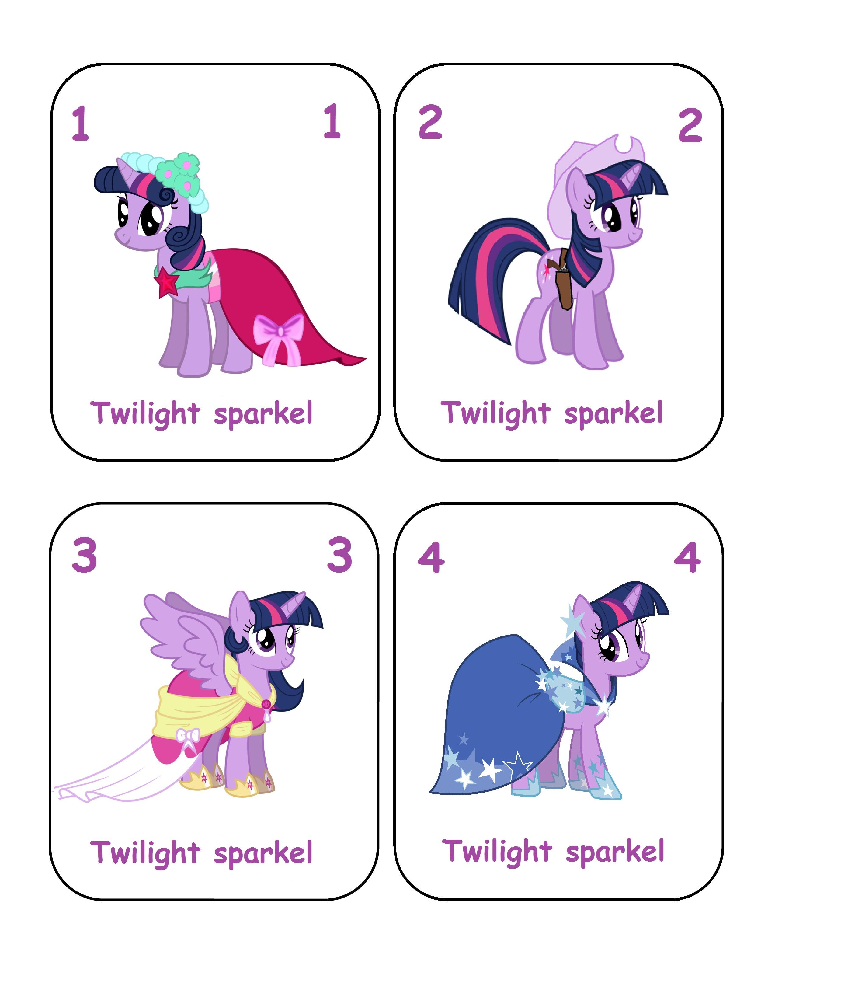 Jeux des 7 familles my little pony satilu - My little pony gratuit ...