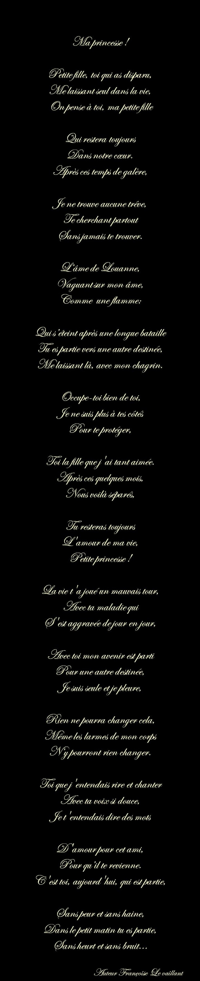 POEMES DIVERS