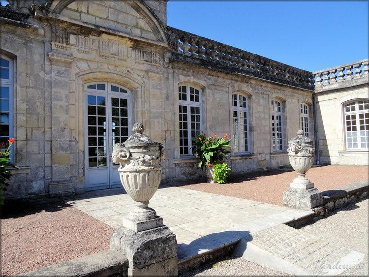 Façade du château Citadelle de Bourg sur Gironde