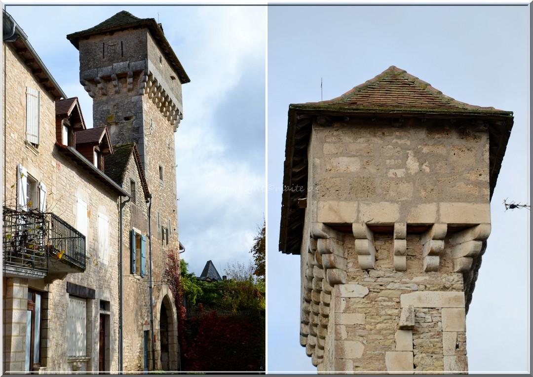 Tour-Porte Cardailhac Villeneuve - Aveyron